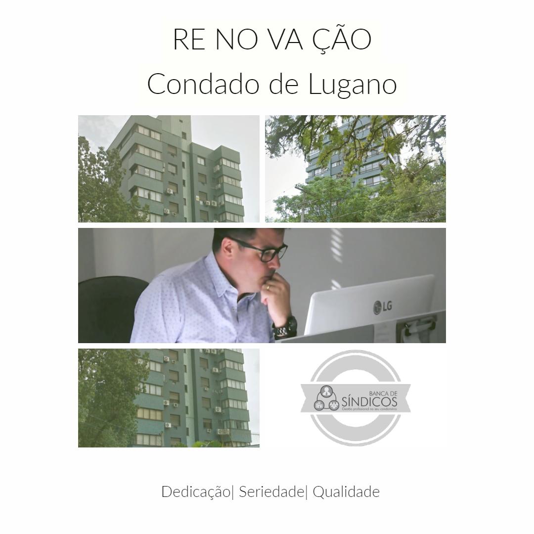 Renovação de Contrato – Condomínio Condado de Lugano